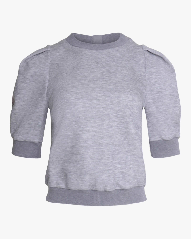 Adam Lippes Luxe Jersey Sweatshirt 1
