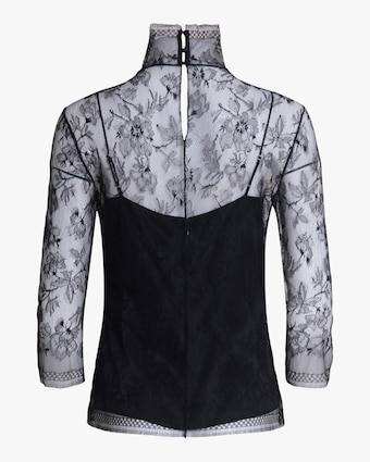 Adam Lippes Samira Lace Turtleneck 2