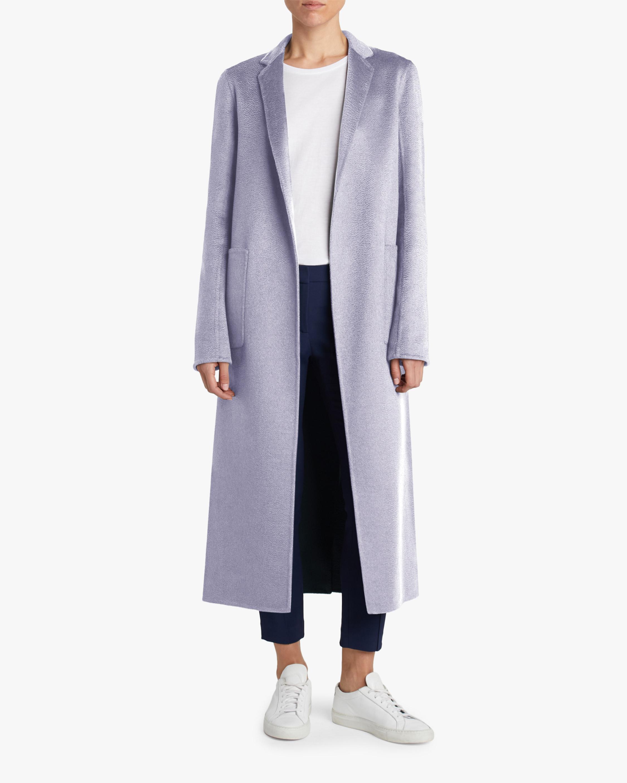 Adam Lippes Zibelline Cashmere Menswear Coat 2
