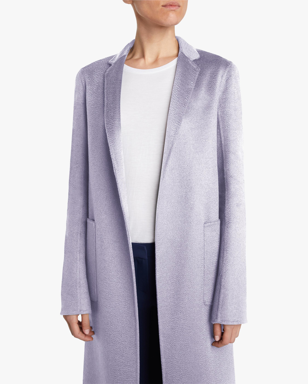 Adam Lippes Zibelline Cashmere Menswear Coat 3