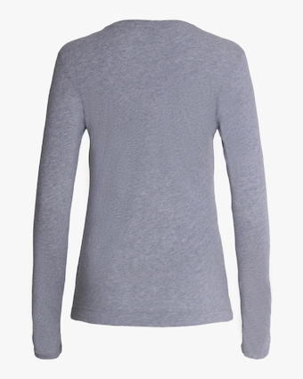 Adam Lippes Long-Sleeve V-Neck Top 2