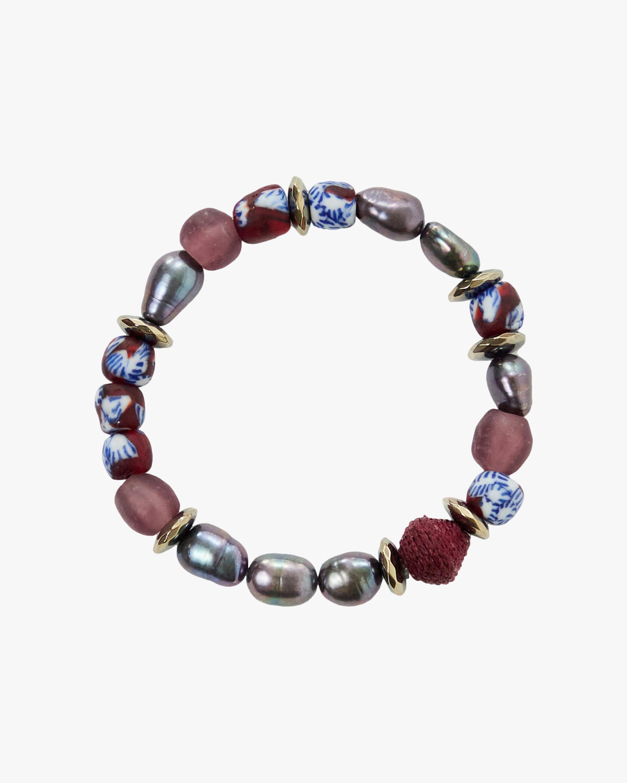 Akola Flora Beaded Bracelet 1
