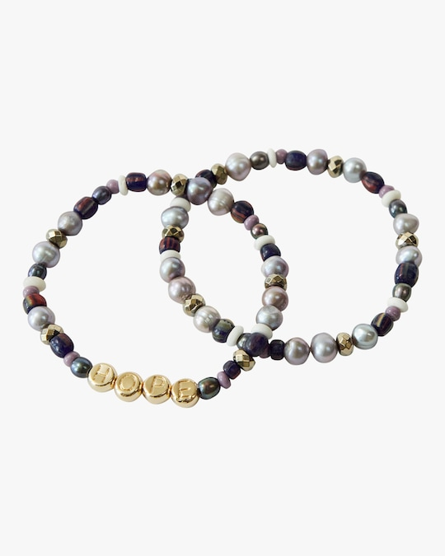 Akola Hope Beaded Bracelet Set 0