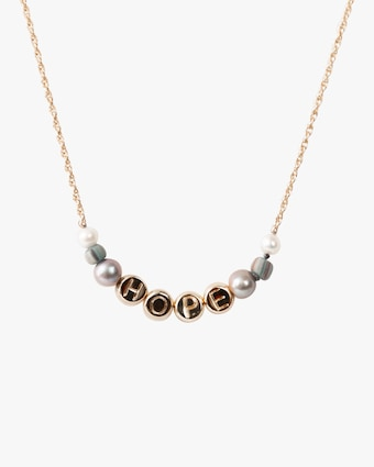 Akola Hope Beaded Necklace 1