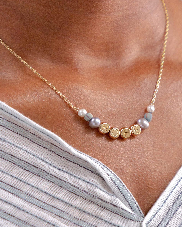 Akola Hope Beaded Necklace 1