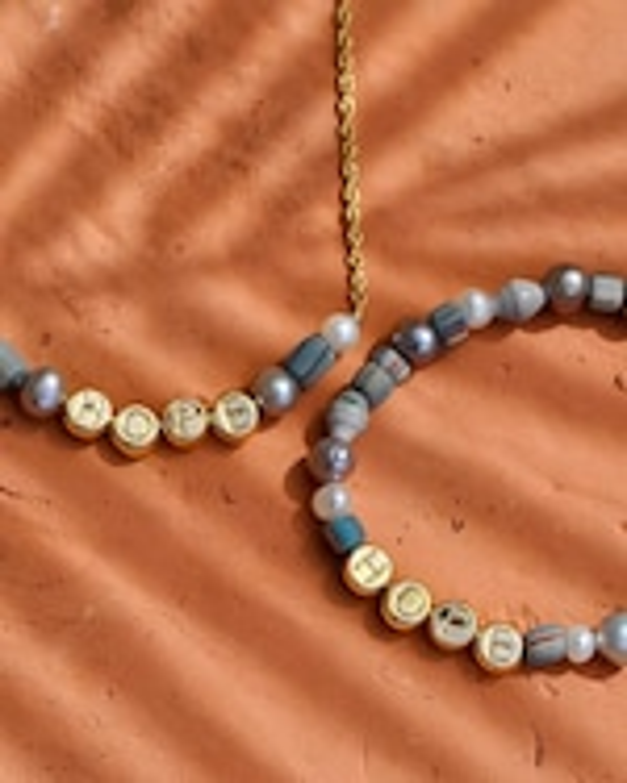 Akola Hope Beaded Necklace 2