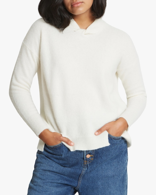 Santicler Knot-Detail Oversized Cashmere Sweater 0