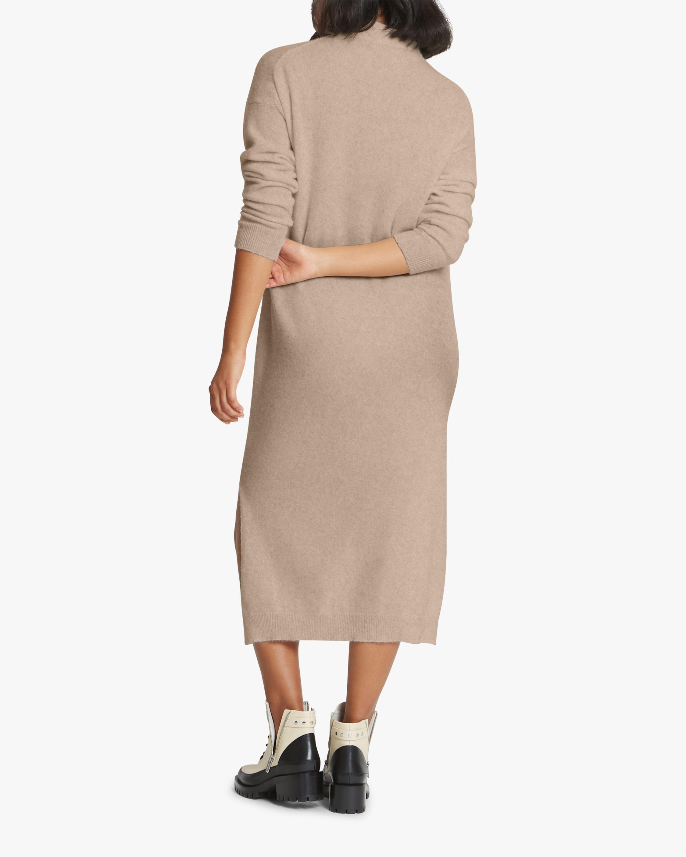Santicler Twist Knot-Detail Cashmere Sweater Dress 2