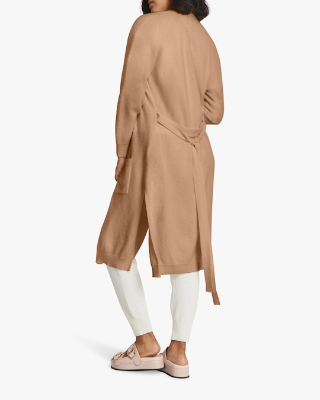 Santicler Cashmere Cardigan Coat 1