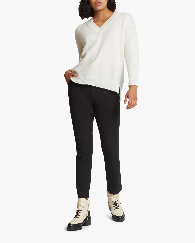 Santicler Crista V-Neck Cashmere Sweater 5
