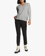 Santicler Relaxed V-Neck Cashmere Sweater 2