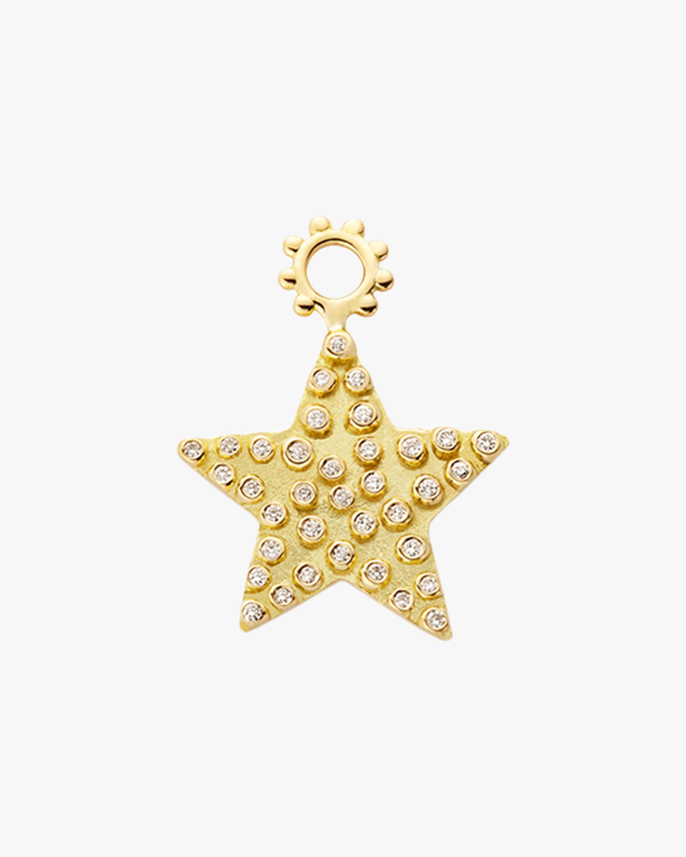 Gaya The Maxi Diamond Star Hoop Charm 2