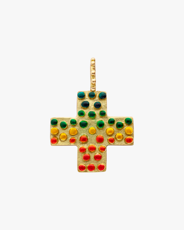 Gaya The Maxi Rainbow Cross Pendant 2