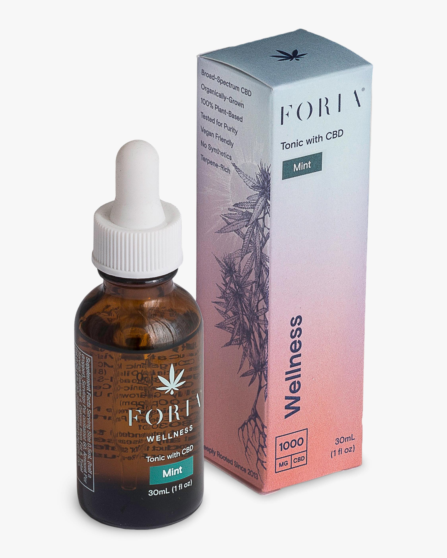 FORIA Wellness Tonic with CBD Mint 30ml 2