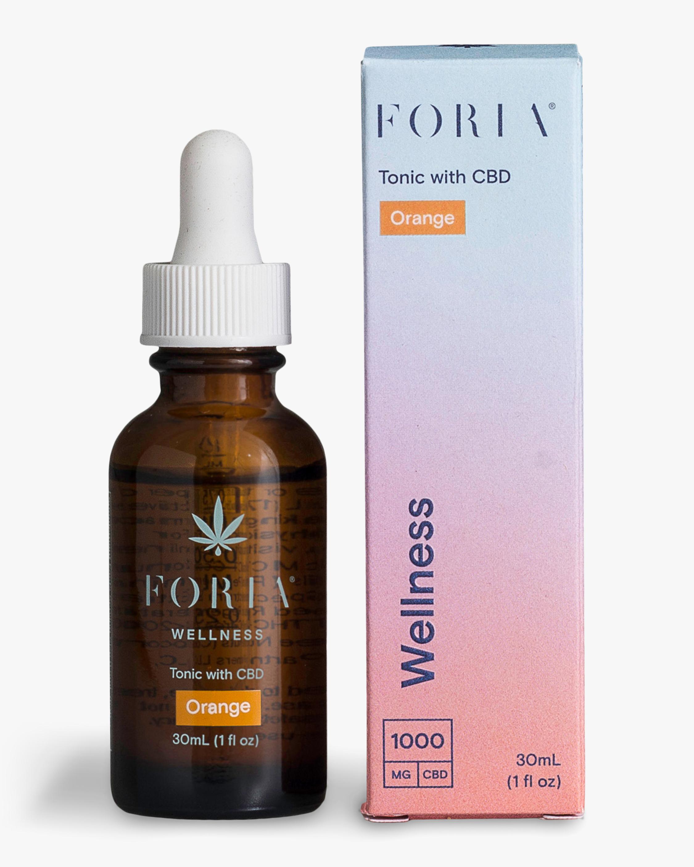 FORIA Wellness Tonic with CBD Orange 30ml 0