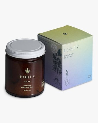 FORIA Relief Bath Salts with CBD & Kava 1