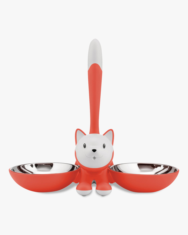 ALESSI Tigrito Cat Bowl Set 0