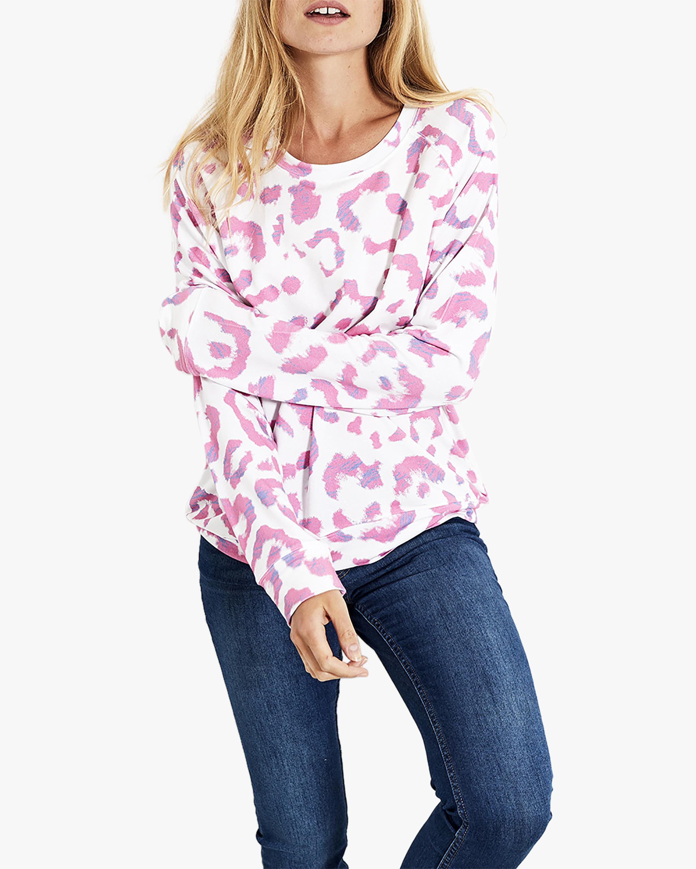 Stripe & Stare Leopard Sweatshirt 2
