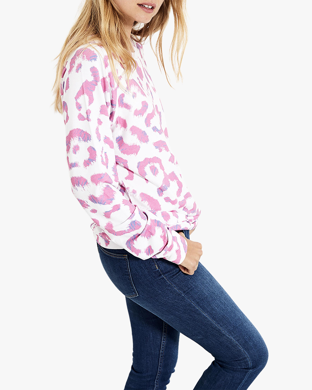 Stripe & Stare Leopard Sweatshirt 3