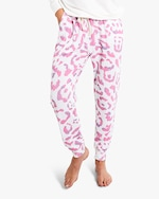 Stripe & Stare Leopard Lounge Pants 0