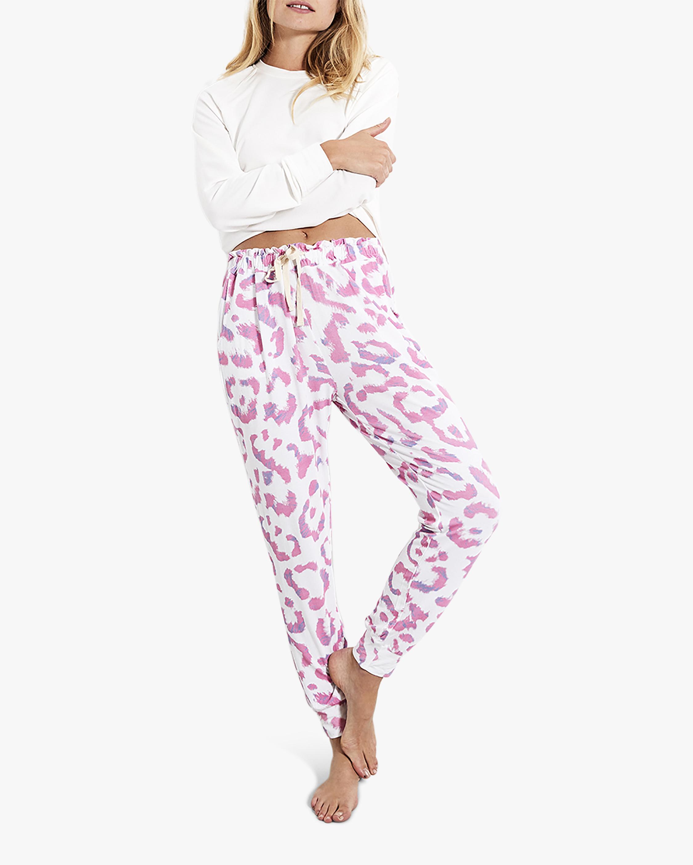 Stripe & Stare Leopard Lounge Pants 1