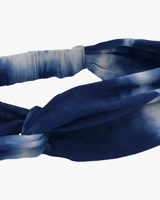 Dauphines of New York Blue Skies Tie-Dye Turban 2