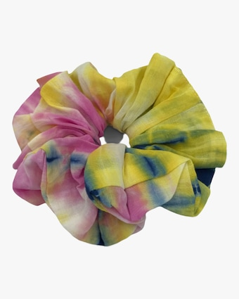 Dauphines of New York Bright Idea Tie-Dye Scrunchie 2