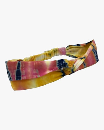 Dauphines of New York Bright Idea Tie-Dye Turban 1