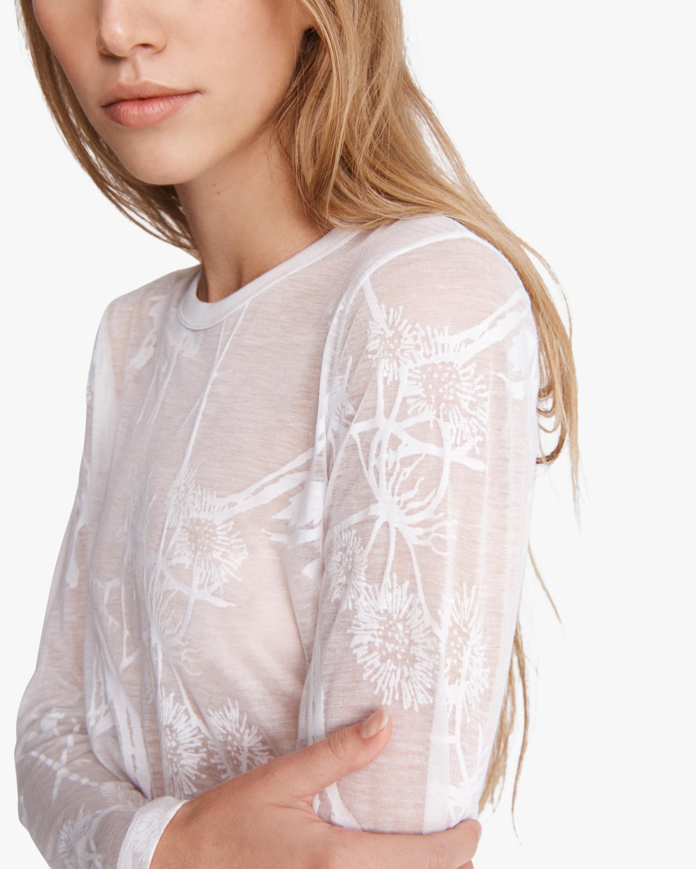 rag & bone Valencia Floral Long-Sleeve top 4