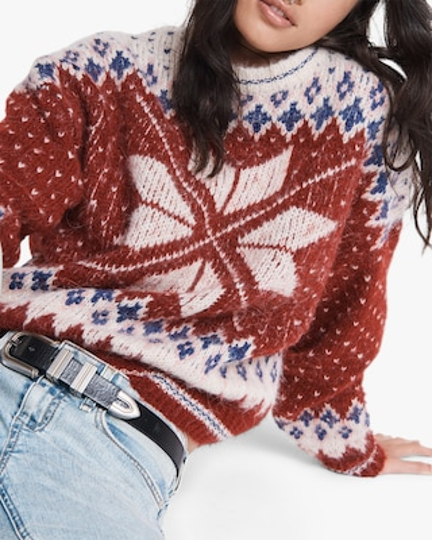 rag & bone Fran Sport Crewneck Sweater 1