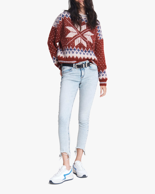 rag & bone Fran Sport Crewneck Sweater 2