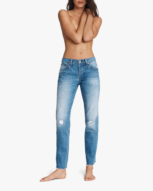 rag & bone Rosa Mid-Rise Boyfriend Jeans 2