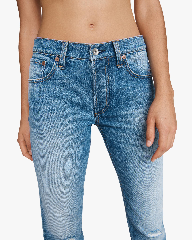 rag & bone Rosa Mid-Rise Boyfriend Jeans 4