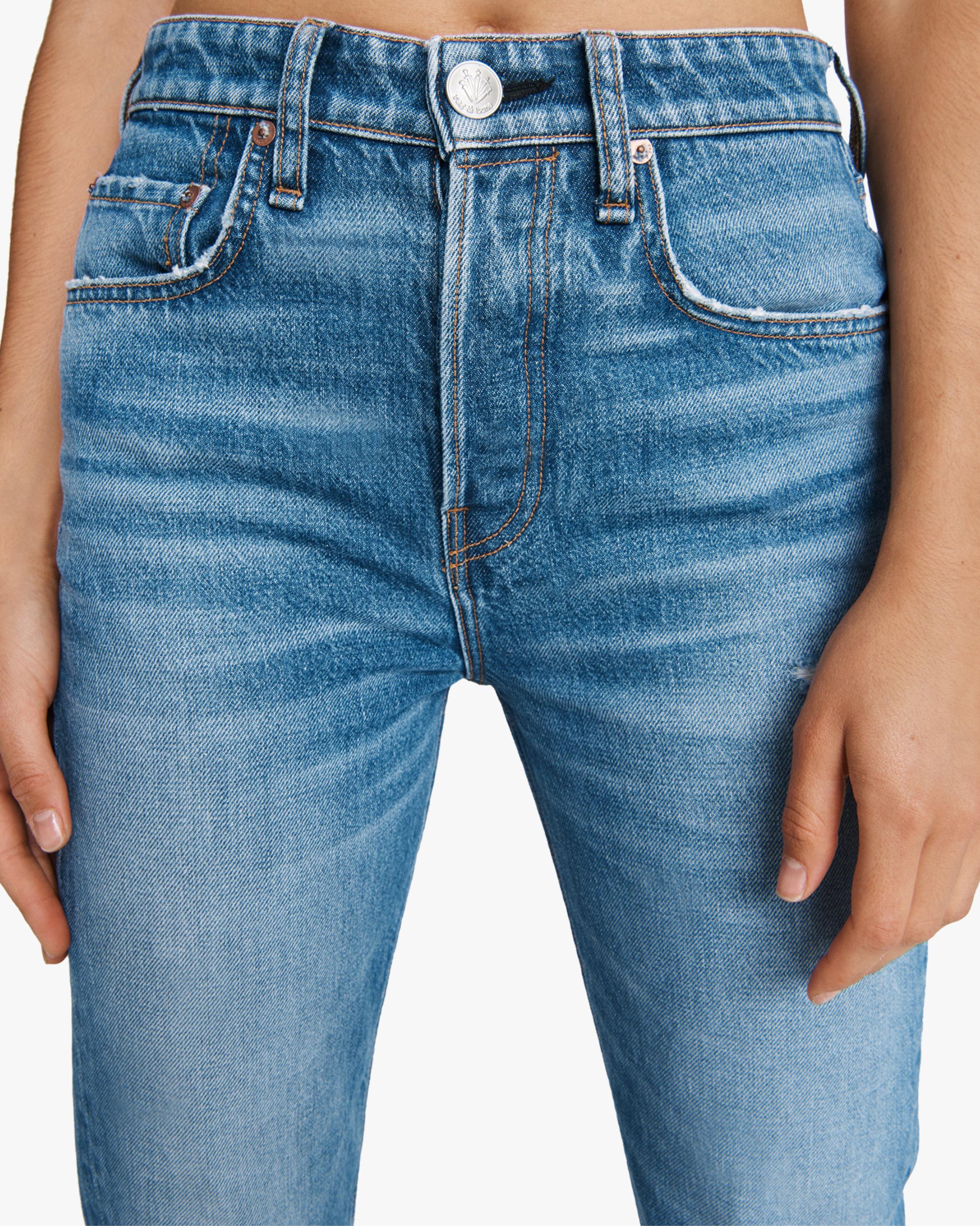 rag & bone Maya High-Rise Boot Jeans 5