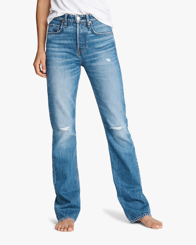 rag & bone Maya High-Rise Boot Jeans 0