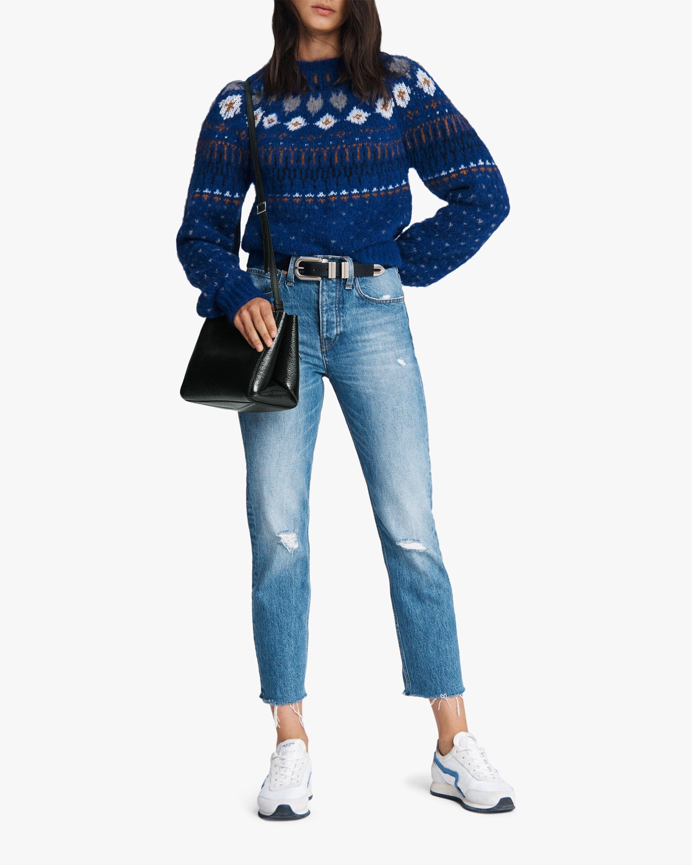 rag & bone Maya High-Rise Ankle Slim Jeans 2