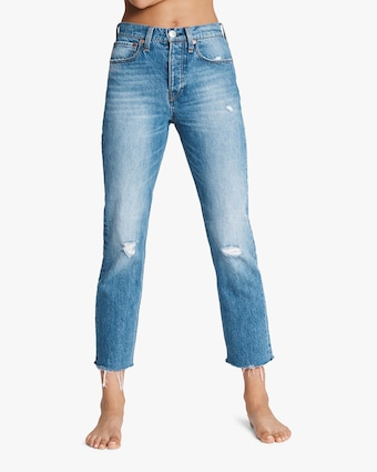rag & bone Maya High-Rise Ankle Slim Jeans 1
