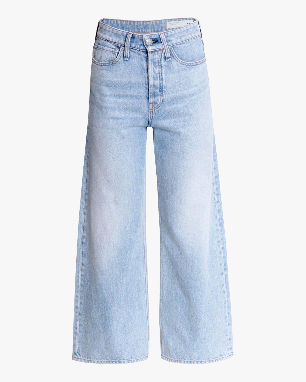 rag & bone Maya High-Rise Wide-Leg Ankle Jeans 0