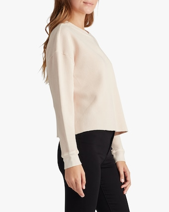 Joe's Jeans Favorite Daughter x Joe's -The Erin Thermal Top 2