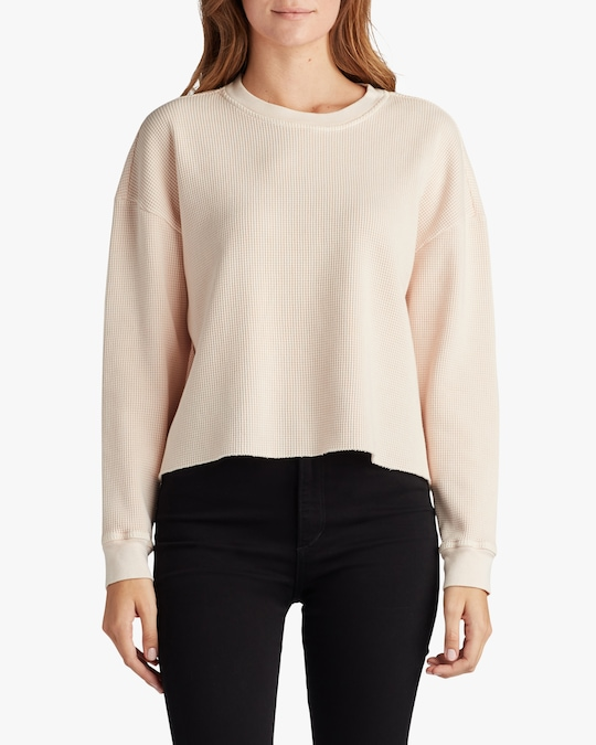 Joe's Jeans Favorite Daughter x Joe's -The Erin Thermal Top 0