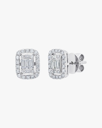 Graziela Gems Medium White Gold Ascension Earrings 1