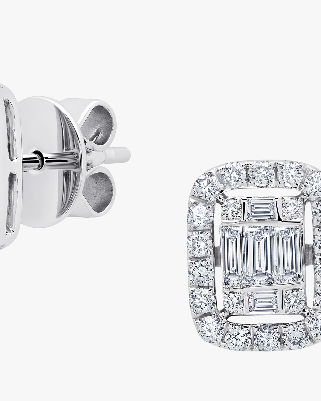 Graziela Gems Medium White Gold Ascension Earrings 1