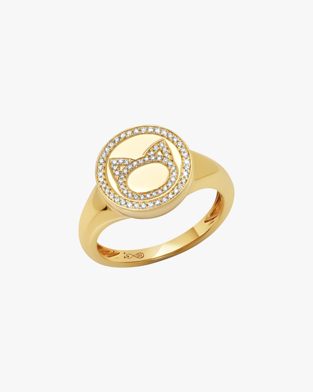 Graziela Gems Cat Circle Ring 0