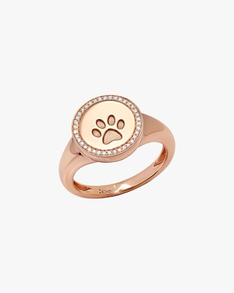 Graziela Gems Circle Paw Ring 1