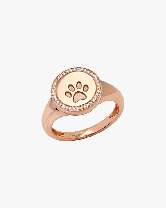 Graziela Gems Circle Paw Ring 0