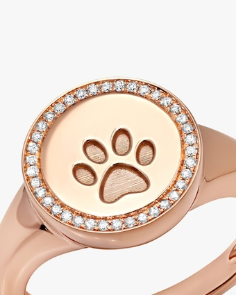 Graziela Gems Circle Paw Ring 2