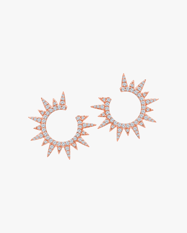 Graziela Gems Rose Gold Everest Earrings 1