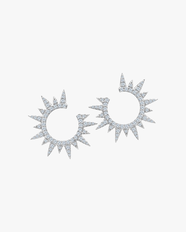 Graziela Gems White Gold Everest Earrings 0