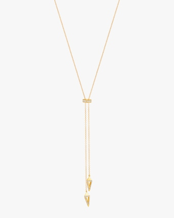 Graziela Gems Yellow Gold Everest Lariat 1