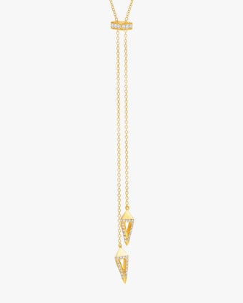 Graziela Gems Yellow Gold Everest Lariat 2